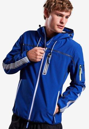 POLAR TEAM - Training jacket - mottled blue