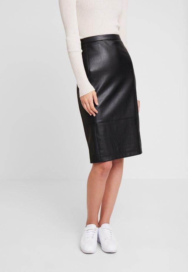 GEORGIA - Pencil skirt - black