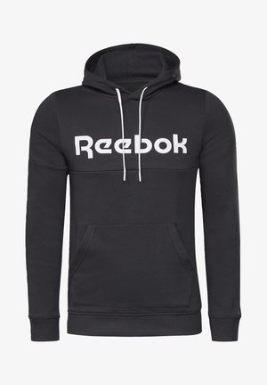 TRAINING ESSENTIALS LOGO HOODIE - Hoodie - black