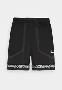 Nike Performance - STRIDE - kurze Sporthose - black/dk smoke grey/reflective silver - 4