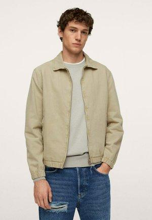TUNEZ - Denim jacket - beige
