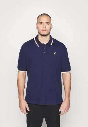 TIPPED - Polo - navy/ white