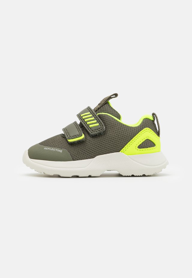 RUSH - Dětské boty - grün/gelb