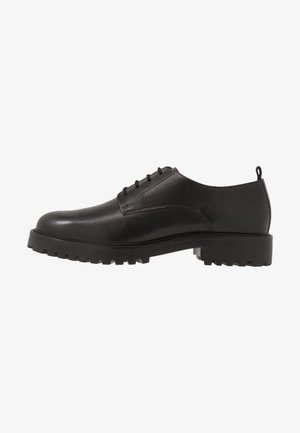 SEAN PLAIN DERBY - Smart lace-ups - black