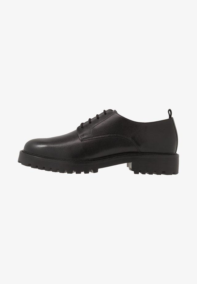 SEAN PLAIN DERBY - Veterschoenen - black