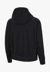 Zip-up hoodie - black/volt