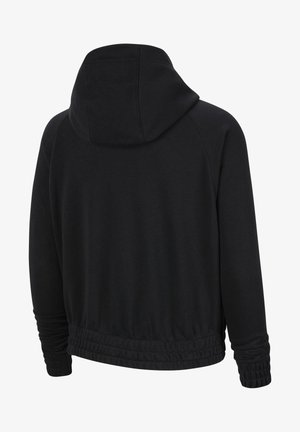 Zip-up hoodie - black/volt