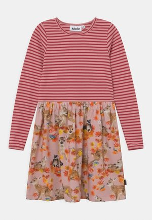 CREDENCE - Jersey dress - pink