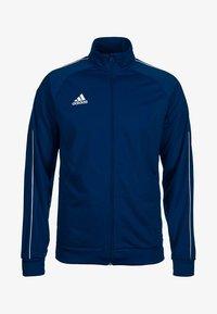 adidas Performance - CORE ELEVEN FOOTBALL TRACKSUIT JACKET - Veste de survêtement - dark blue/white - 0