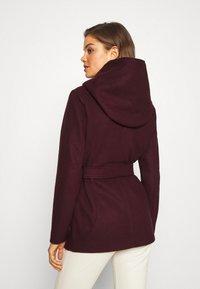 ONLY - ONLCHANETT JACKET  - Classic coat - port royale - 2