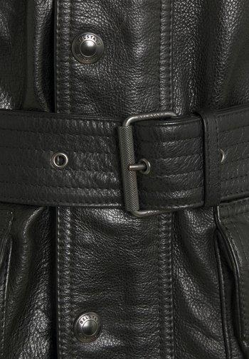 TRIALMASTER PANTHER JACKET - Kožená bunda - black