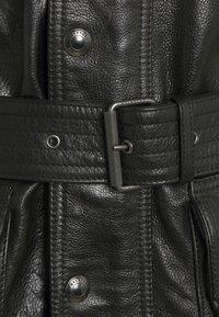 Belstaff - TRIALMASTER PANTHER JACKET - Veste en cuir - black - 2