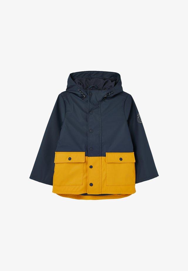 Parka - marineblau gelb