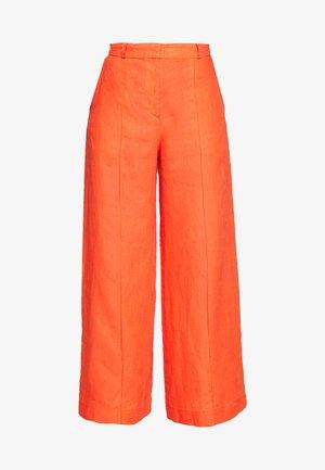 PANTS - Trousers - cinnabar