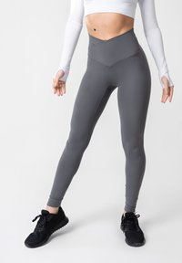 OGY Apparel - AMINTA GLEAM WORKOUT  - Legging - grey - 0