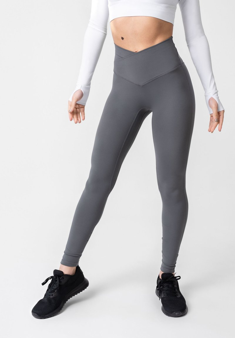 OGY Apparel - AMINTA GLEAM WORKOUT  - Legging - grey