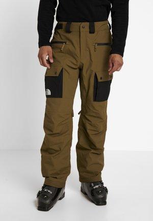 SLASHBACK  - Pantaloni da neve - military olive/black