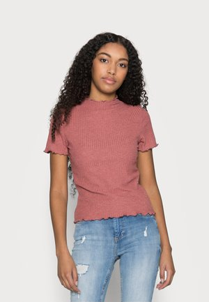 ONLEMMA HIGHNECK PETIT - T-shirt basic - apple butter
