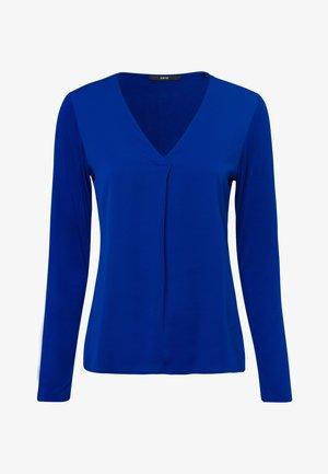 MIT V-AUSSCHNITT - Blouse - true blue