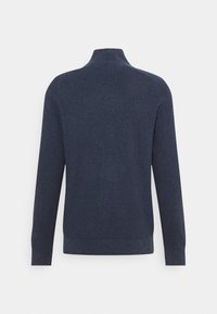 Tommy Jeans - TJM SMALL LOGO SWEATER - Maglione - twilight navy heather - 7