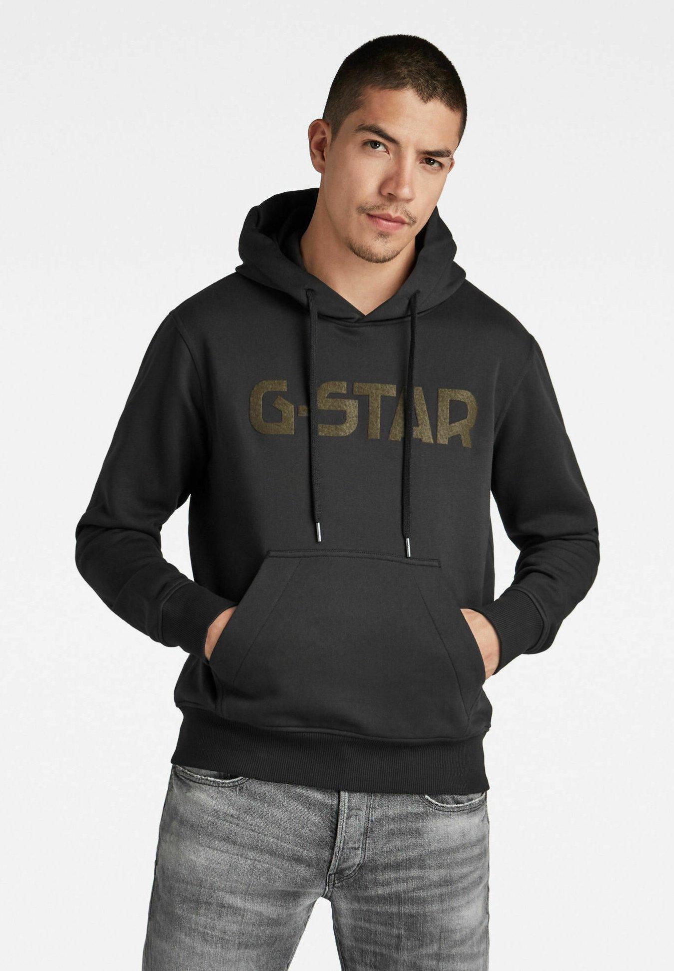 Uomo G-STAR HOODED - Felpa con cappuccio