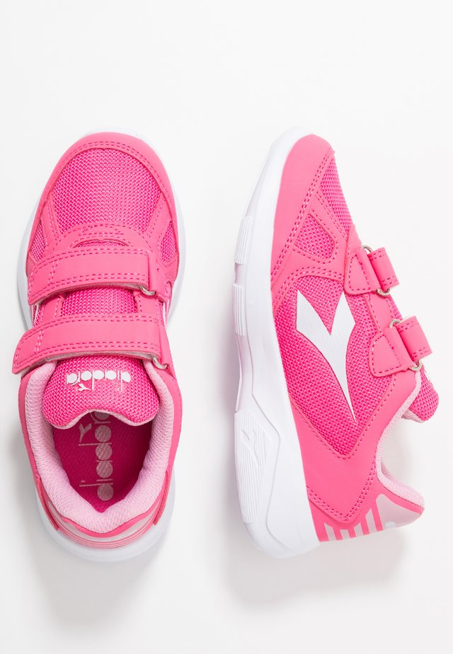 EAGLE 2  - Neutral running shoes - hot pink/white