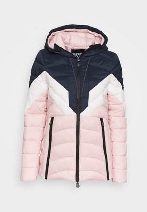 COLOUR BLOCK ECLIPSE PADDED JACKET - Giacca invernale - chalk pink