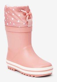 Next - WARM LINED CUFF - Stivali di gomma - pink - 2