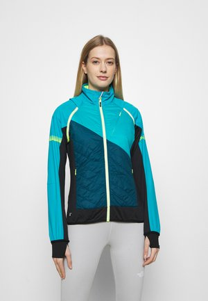 WOMAN JACKET WITH DETACHABLE SLEEVES - Blouson - baltic