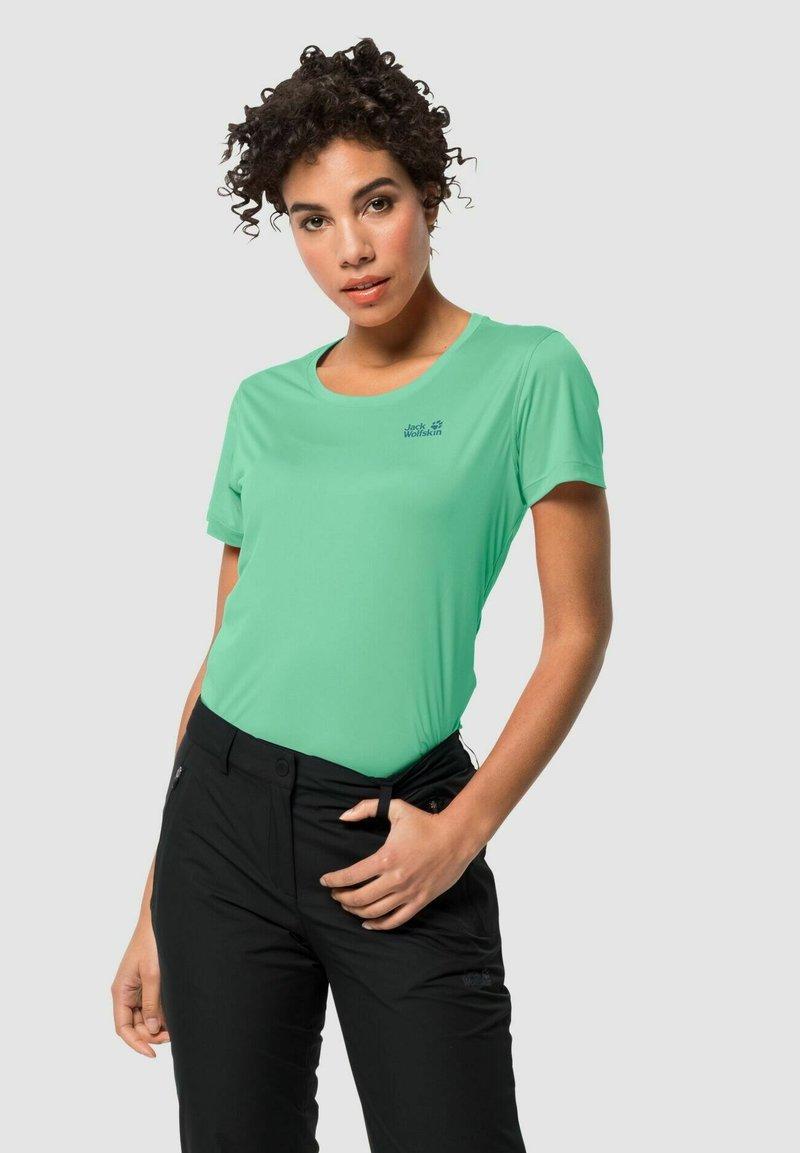 Jack Wolfskin - TECH - Basic T-shirt - pacific green