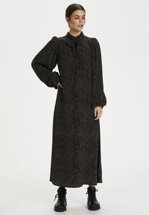 TIKAGZ  - Maxi dress - brown strokes