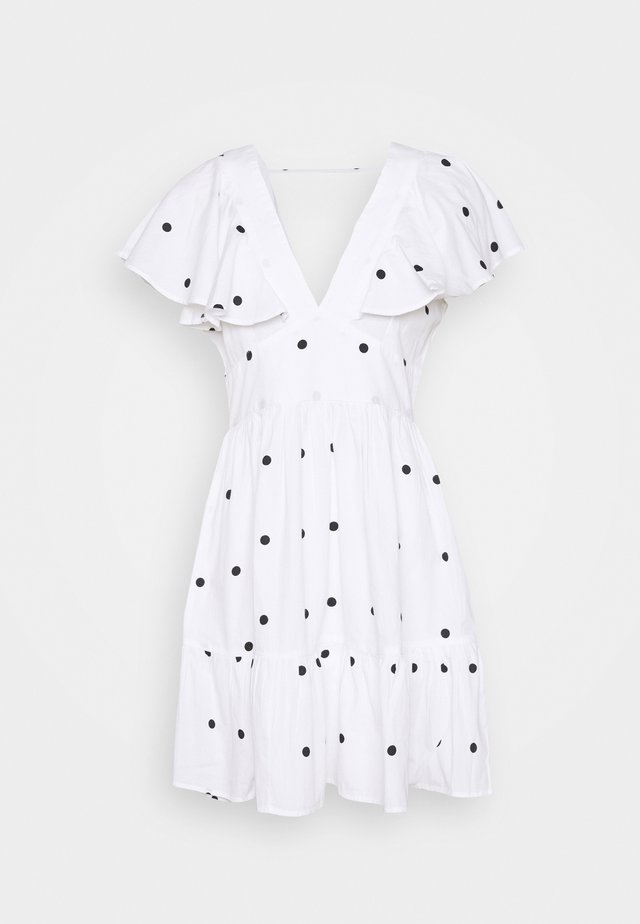 SOPHIE DRESS - Cocktail dress / Party dress - white/black