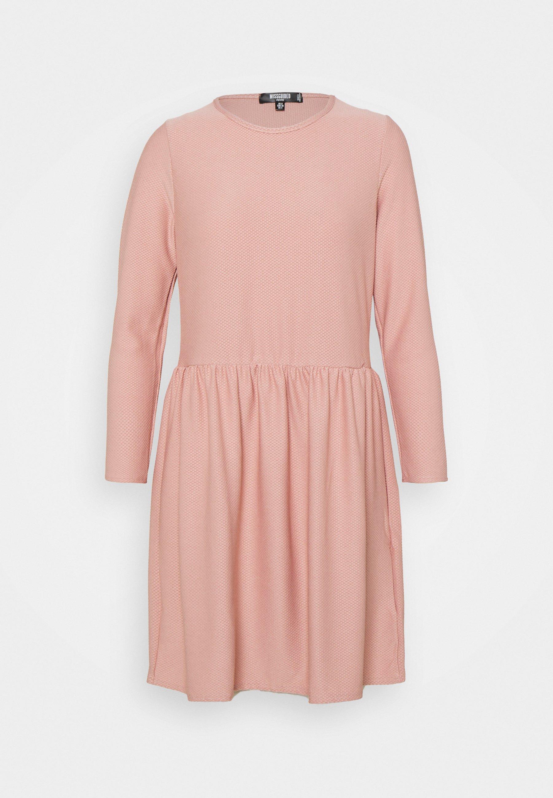 Women TEXTUREN SMOCK DRESS - Jersey dress