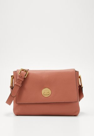 LIYA - Handbag - litchi/rose