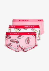 Pieces - PCLOGO LADY FAST FOOD 3 PACK - Pants - sea pink - 5