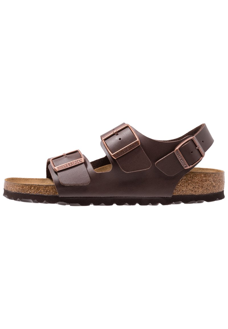 Birkenstock - MILANO - Sandały - dark brown