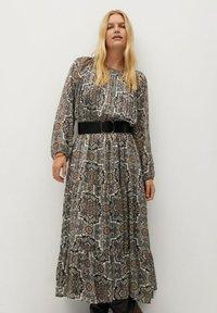 Violeta by Mango - BENGALA - Maxi dress - gris - 0