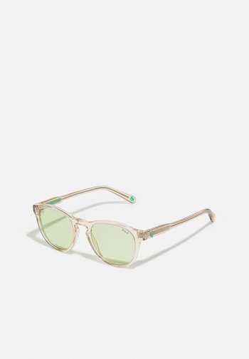 UNISEX - Sunglasses - shiny transparent light brown