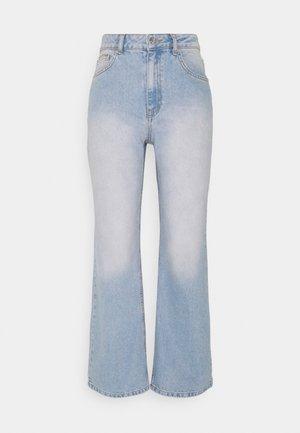 HIGHWAIST - Flared jeans - light blue