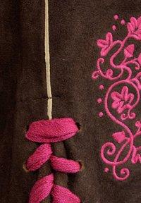 Almsach - Leather trousers - braun - 4