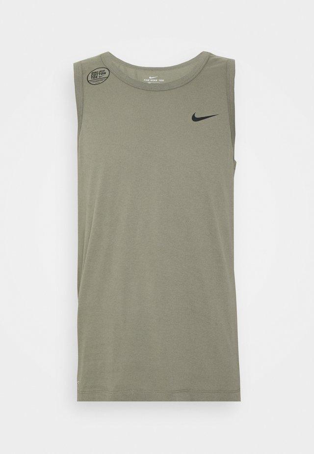 DRY TANK SOLID - Sports shirt - light army/black