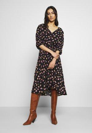 GITLA OZ DRESS - Day dress - black/pink