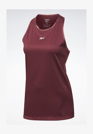 STUDIO MATERNITY RESTORATIVE TANK TOP - Top - burgundy