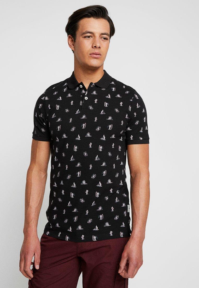 Produkt - PKTGMS SURF - Koszulka polo - black