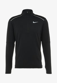 Nike Performance - T-shirt de sport - black/reflective silver - 6