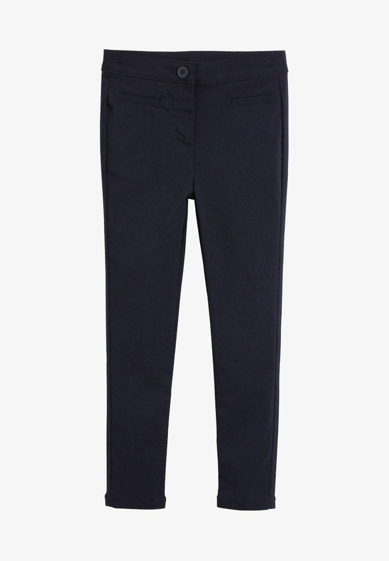 Next - NAVY SKINNY STRETCH TROUSERS  - Kalhoty - blue