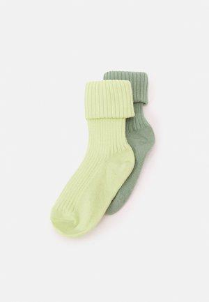 BABY SOCKS 2 PACK UNISEX - Socks - tender yellow