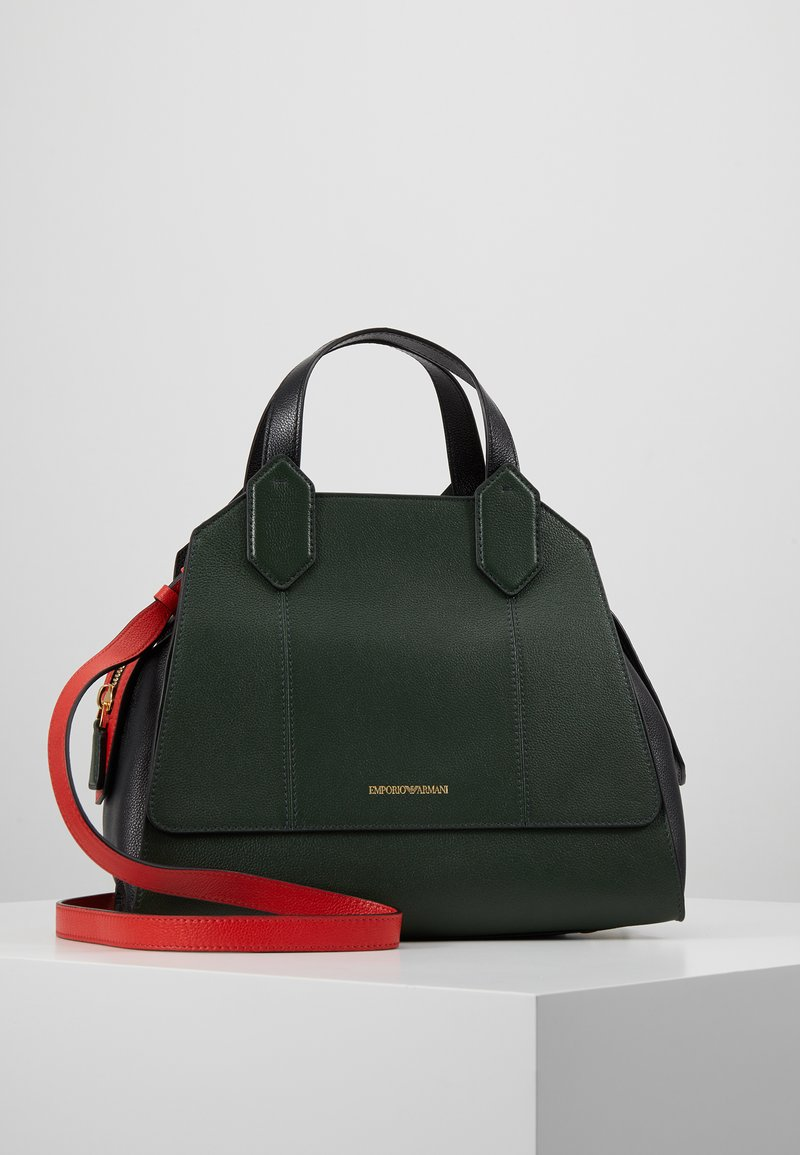 Emporio Armani - TOTE BAG - Håndtasker - khaki