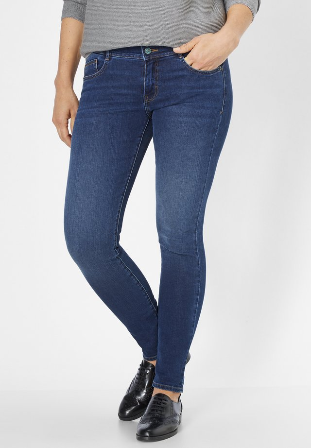 MIT MOTION&COMFORT LUCI - Jeans Skinny Fit - dark blue