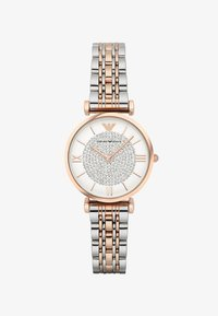 Emporio Armani - Montre - silver-coloured/rosegold-coloured - 1